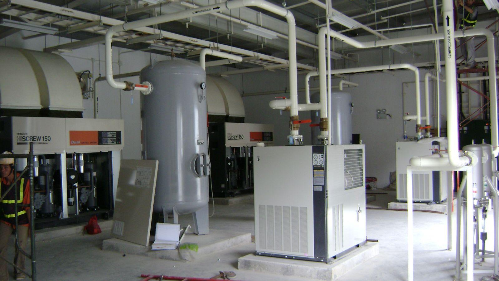 Cung cấp giải pháp cho hệ thống máy nén khí cũ