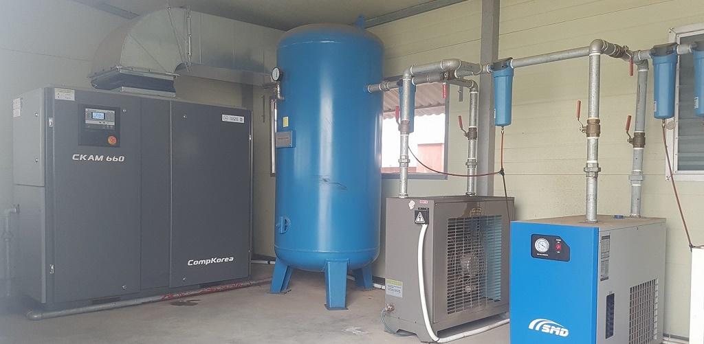 sửa chữa máy nén khí tại Hưng Yên