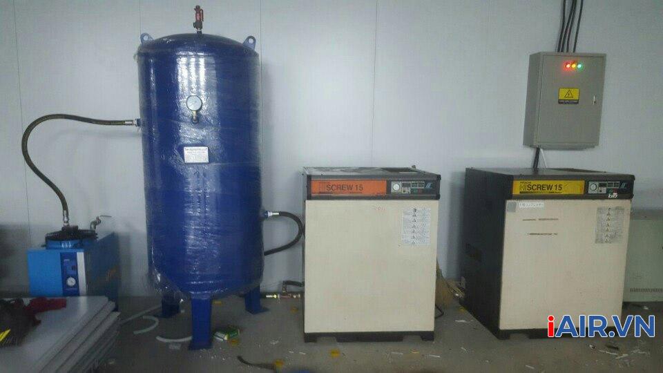 sửa chữa máy nén khí tại Vĩnh Phúc