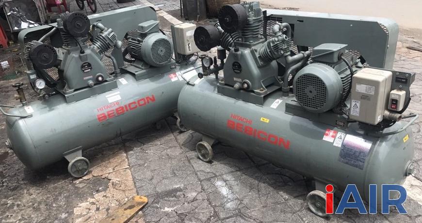 Máy nén khí mini Nhật bãi được ưa chuộng tại Việt Nam do máy chạy êm, lên khí khỏe, hoạt động bền bỉ
