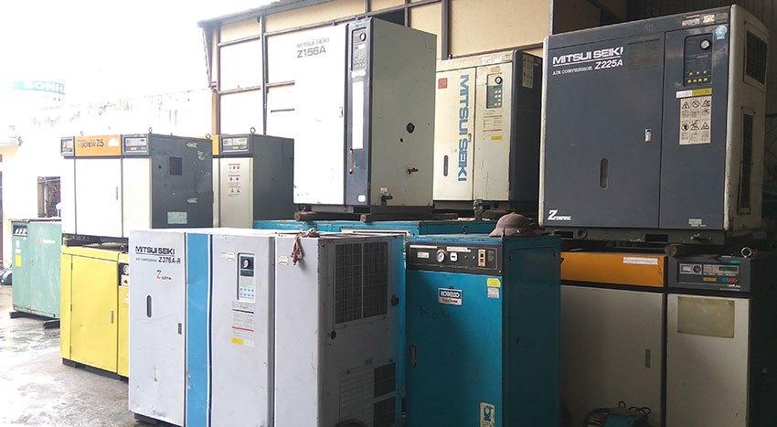 IAIR Việt Nam là đơn vị cung cấp máy nén khí cũ hàng Nhật bãi hàng đầu tại Hà Nội